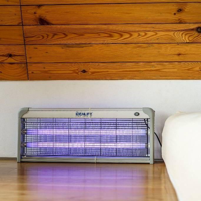 Idealife Pest Control Lamp 2 X 20watt - Lampu Pengendali Hama 2x20wat - Il-40w0