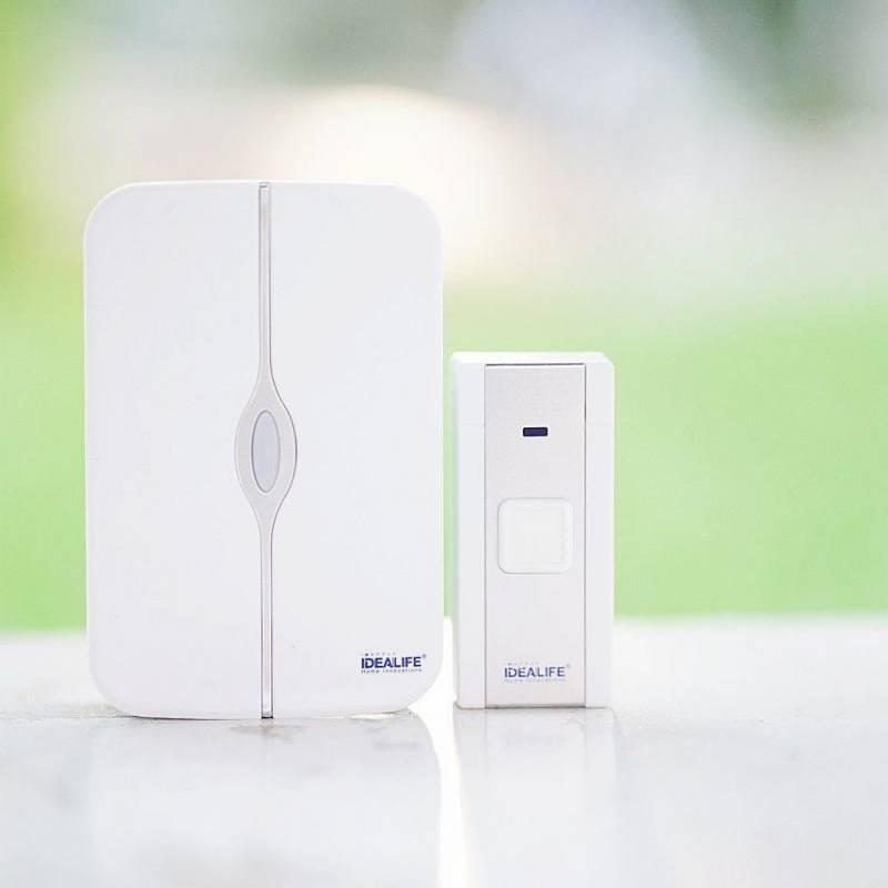 Idealife - Wireless Doorbell - Bel Pintu Listrik (il-291)
