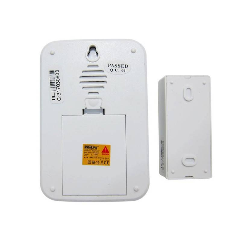 Idealife - Dc Wireless Doorbell - Bel Pintu Listrik (il-301) (1 Remote)1