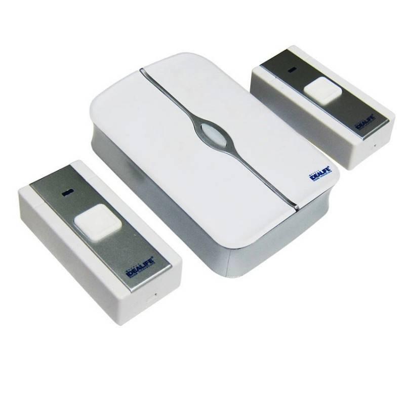 Idealife - Dc Wireless Doorbell - Bel Pintu Listrik (il-302) (2 Remote)0