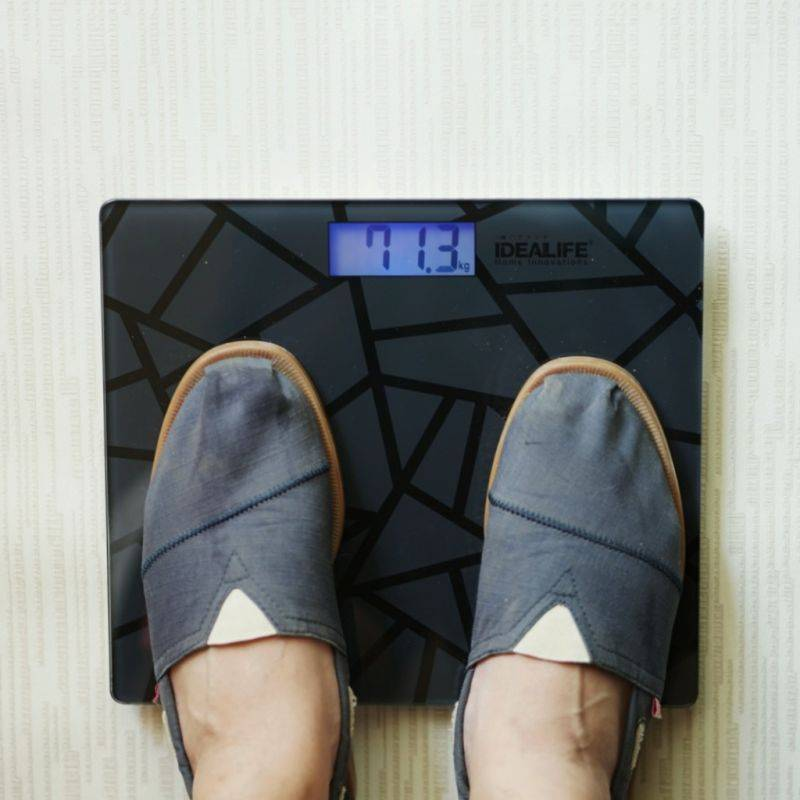 Idealife - Digital Bathroom Scale - Timbangan Badan Digital (il-270)
