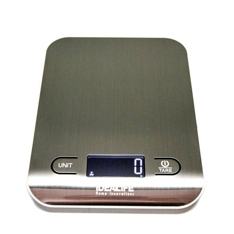 Idealife - Digital Kitchen Scale – 5kg/1gr - Timbangan Kue 5kg/1gr - Il–211se0