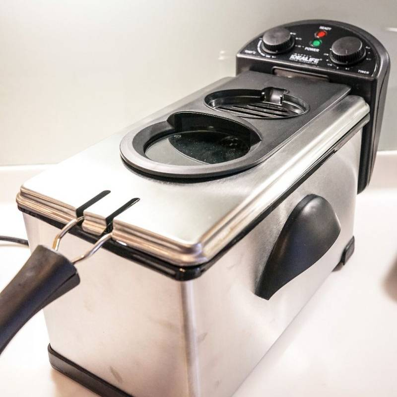 Idealife - Deep Fryer - Penggorengan Elektrik 4.0 Litre (il-200df)