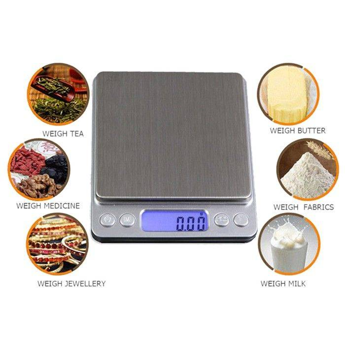 Idealife - Pocket Scale - Timbangan Saku (il-500pnew)