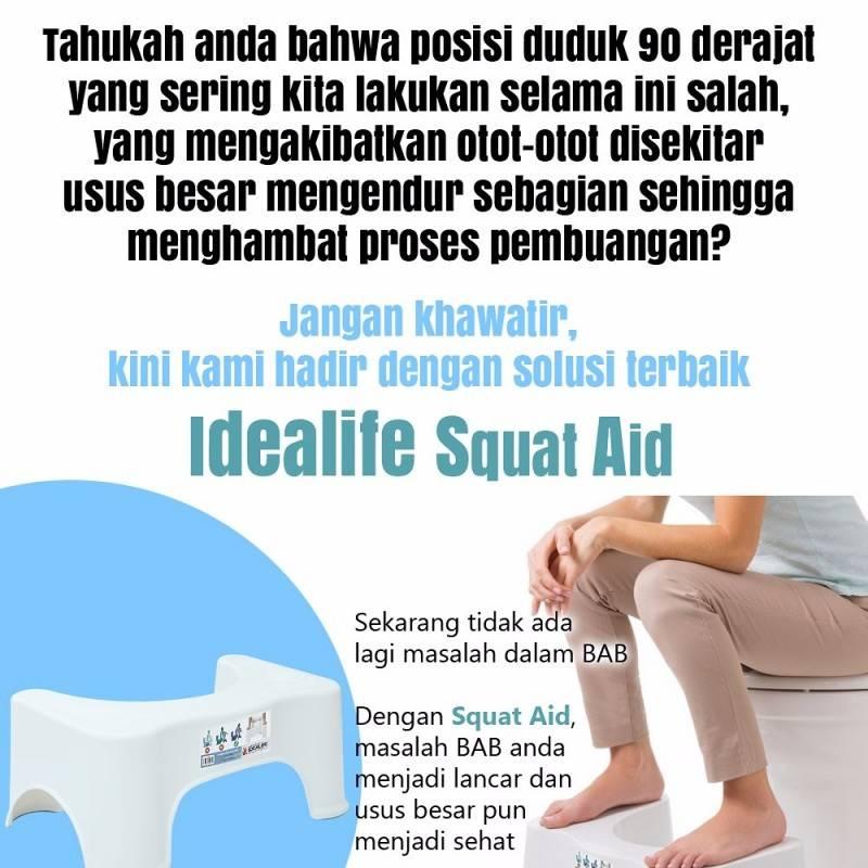 Idealife - Squat Aid - Alat Bab - Il-8072