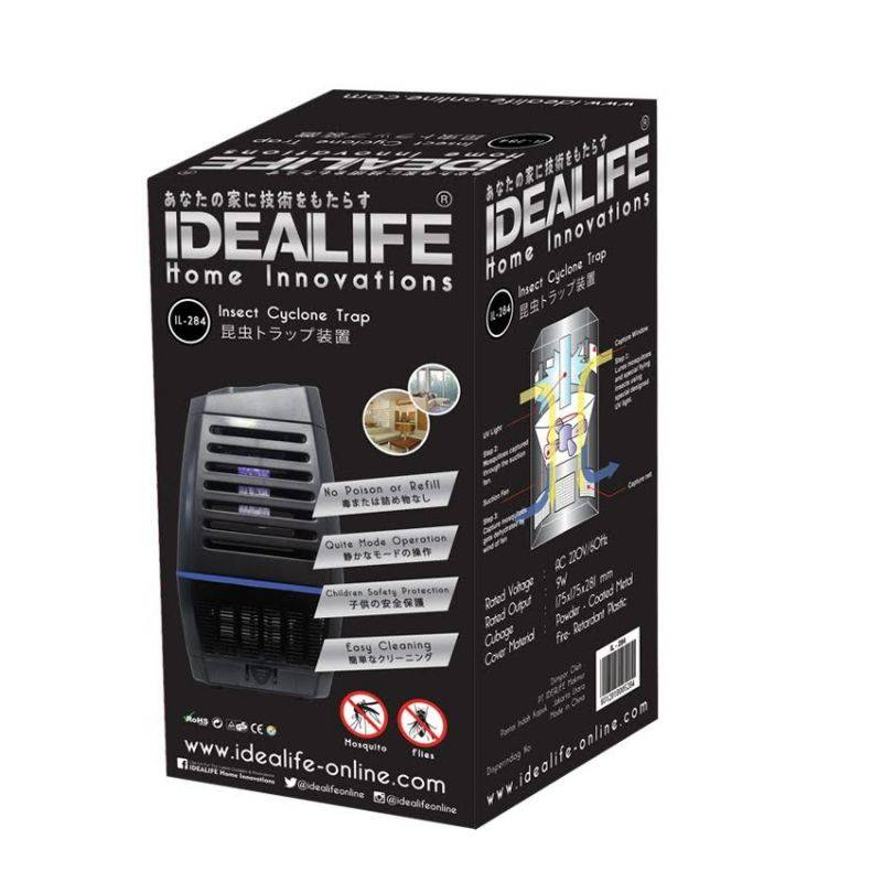 Idealife - Pest Control Lamp With Fan - Perangkat Nyamuk - Il-2840
