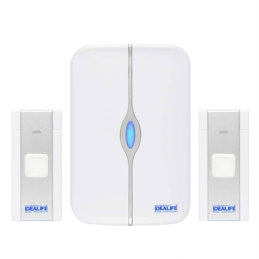 Idealife - Dc Wireless Doorbell - Bel Pintu Listrik (il-302) (2 Remote)3