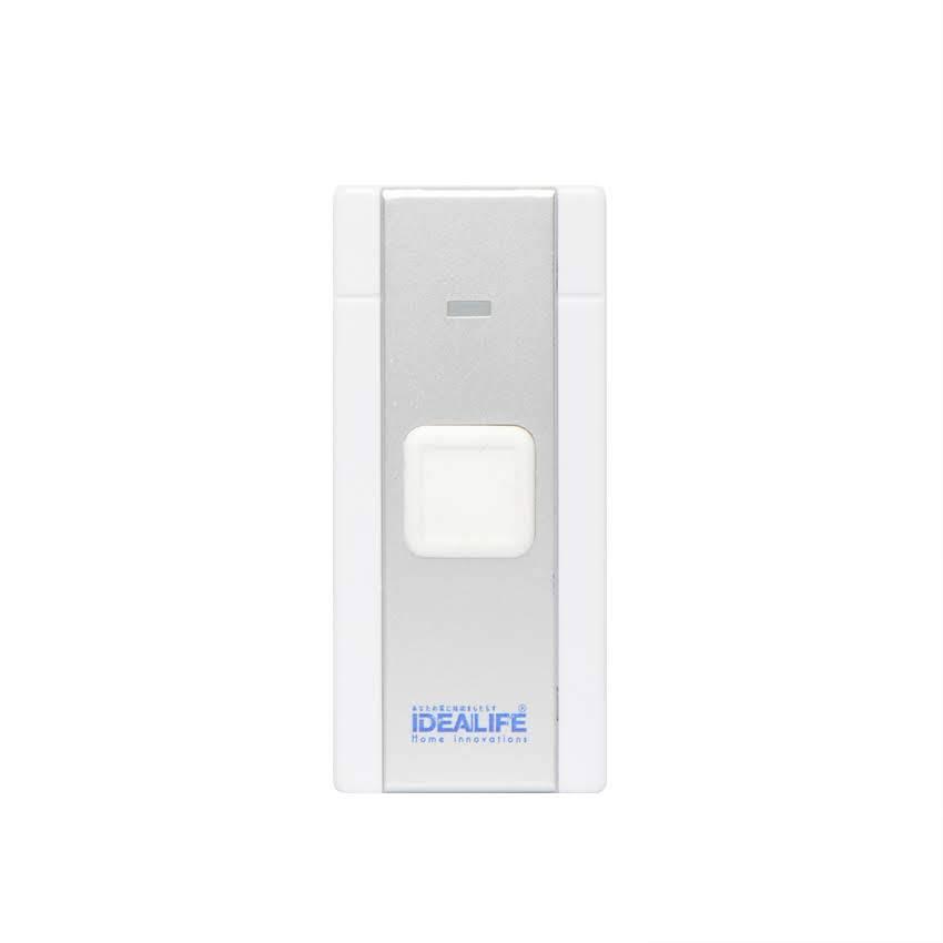 Idealife - Dc Wireless Doorbell - Bel Pintu Listrik (il-301) (1 Remote)4