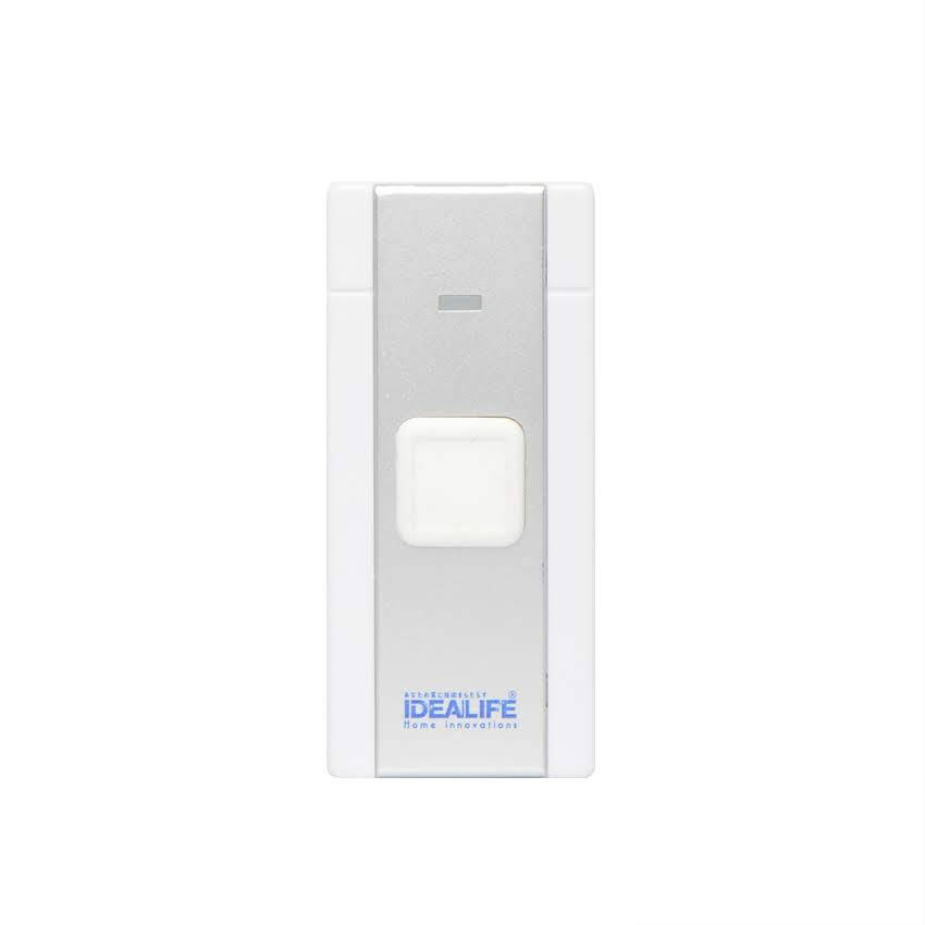 Idealife - Ac Wireless Doorbell Remote - Bel Pintu Listrik (il-294) (manual Coding)3