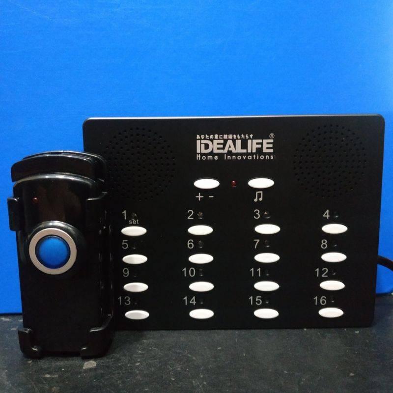 Idealife - Wireless Calling System - Bell Panggil Tanpa Kabel - Il-296 Speaker2