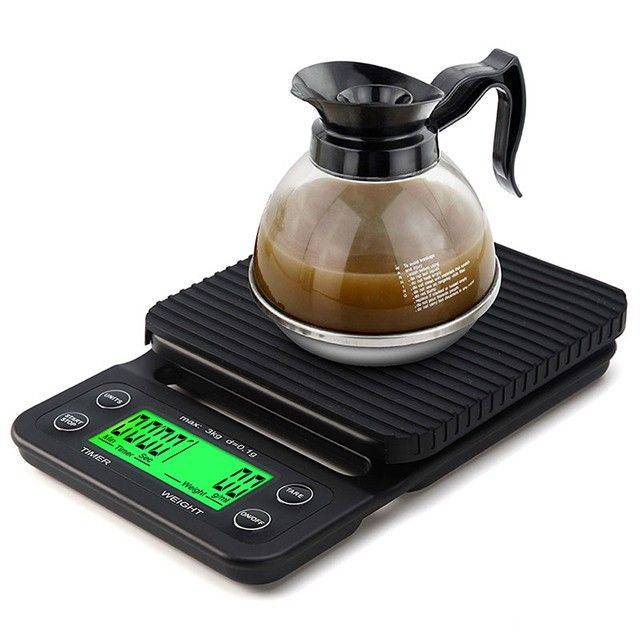 Idealife - Digital Coffee Scale – 3kg 0.1gr - Timbangan Kopi 3kg 0.1gr - Il–500c3