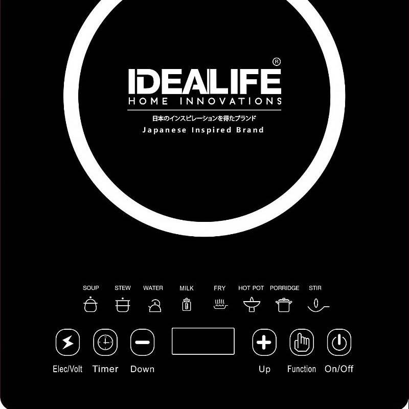Idealife - Induction Cooker - Kompor Listrik Induksi 1 Tungku - Il-2011