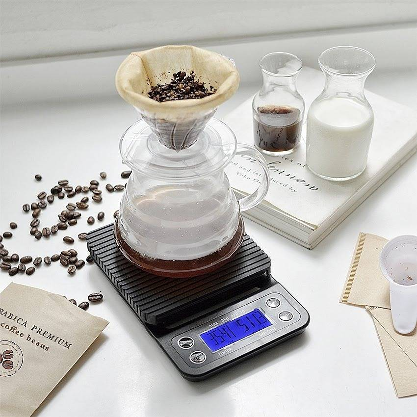 IDEALIFE - Digital Coffee Scale – 3Kg/0.1GR - Timbangan Kopi 3Kg/0.1Gr - IL–500c0