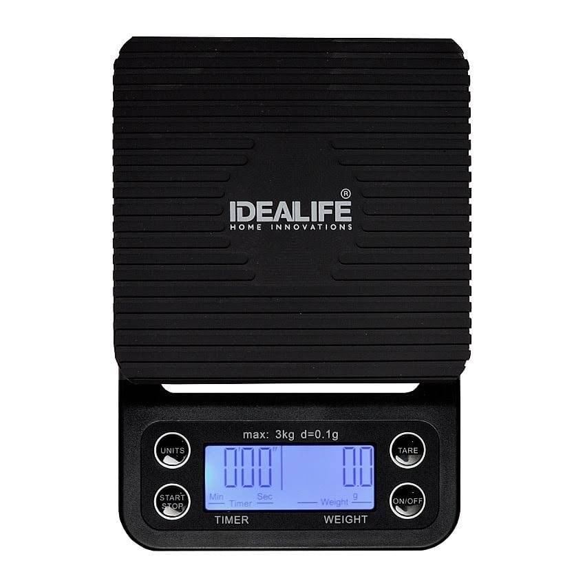 IDEALIFE - Digital Coffee Scale – 3Kg/0.1GR - Timbangan Kopi 3Kg/0.1Gr - IL–500c1
