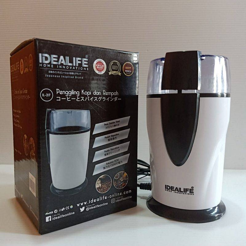 IDEALIFE - Electric Coffee & Spice Grinder - Penggiling Listrik (IL-217)2