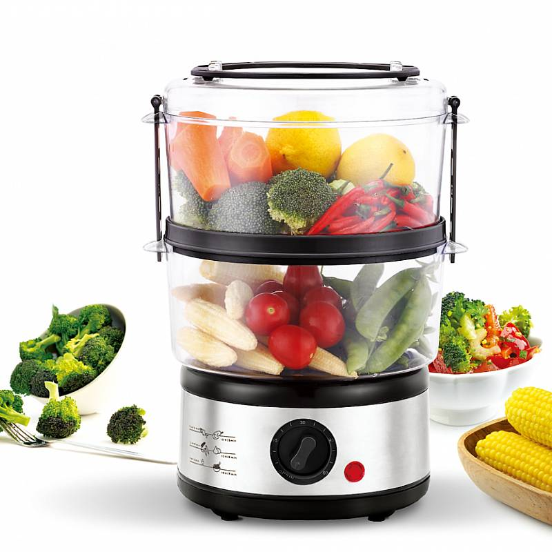 IDEALIFE - Food Steamer – Pengkukus Makanan - IL–114 (2 Layer)