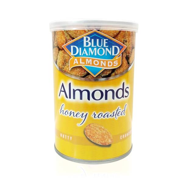 Roasted Almonds Honey Blue Diamond 130 Gr0