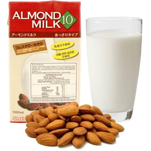 Almond Milk Tsukuba 1 Ltr1