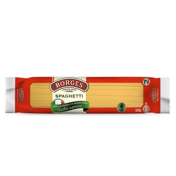 Pasta Spaghetti Borges 500 Gr
