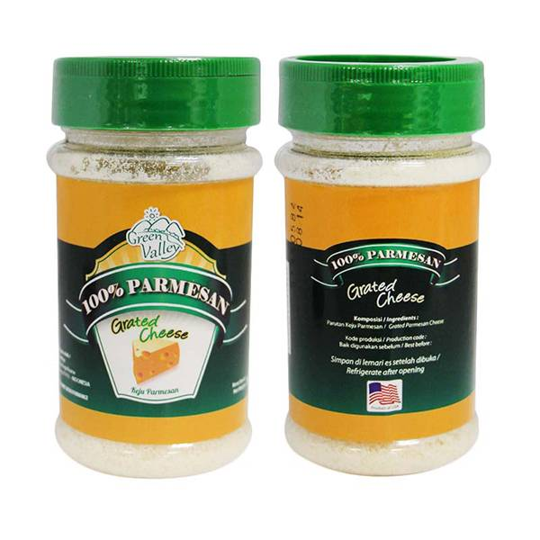 Parmesan Cheese Green Valley 80 Gr
