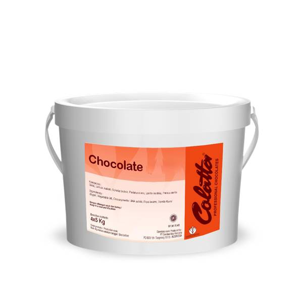 Chocolate Spread Colatta 5 Kg