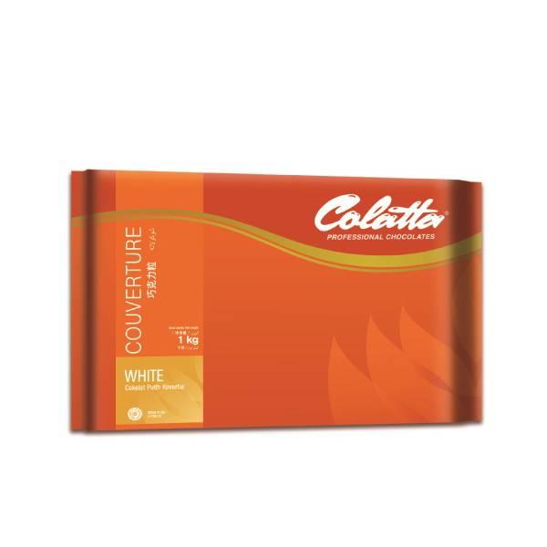 Prof Choco Couverture White Colatta 1 Kg