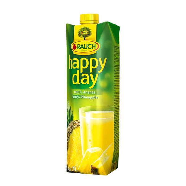 Fruit Juice Pineapple Happy Day 1 Ltr