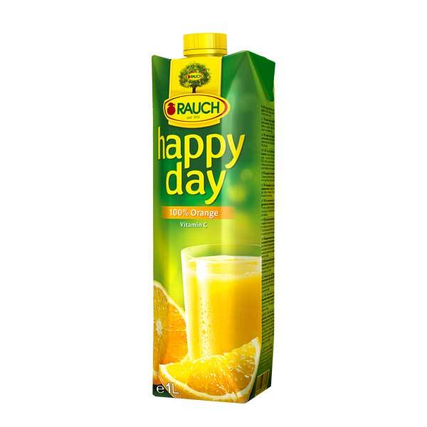 Fruit Juice Orange Happy Day 1 Ltr