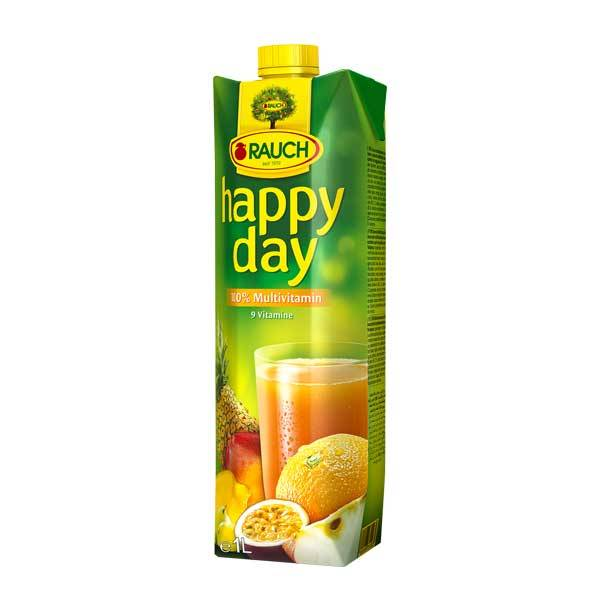 Fruit Juice Multivitamin Happy Day 1 Ltr