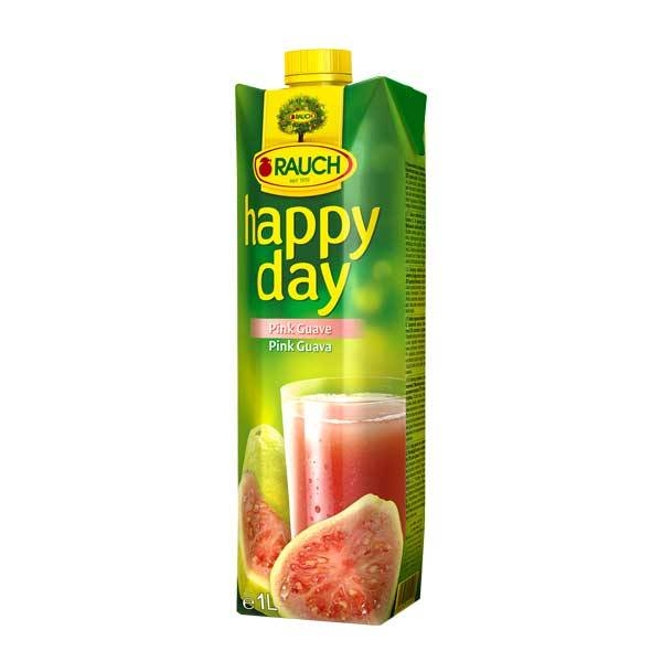 Fruit Juice Pink Guava Happy Day 1 Ltr