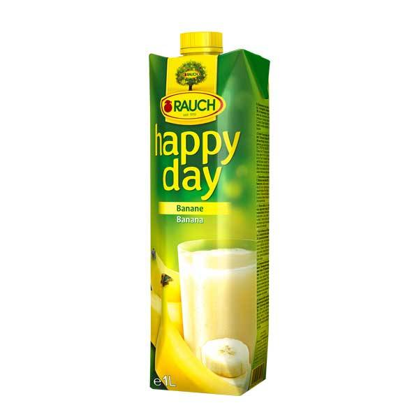 Fruit Juice Banana Happy Day 1 Ltr