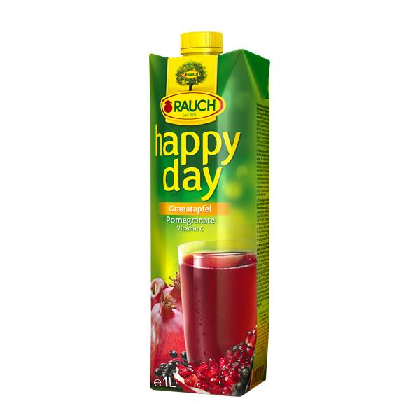 Happy Day-fruit Juice Pomegranate 1 Ltr