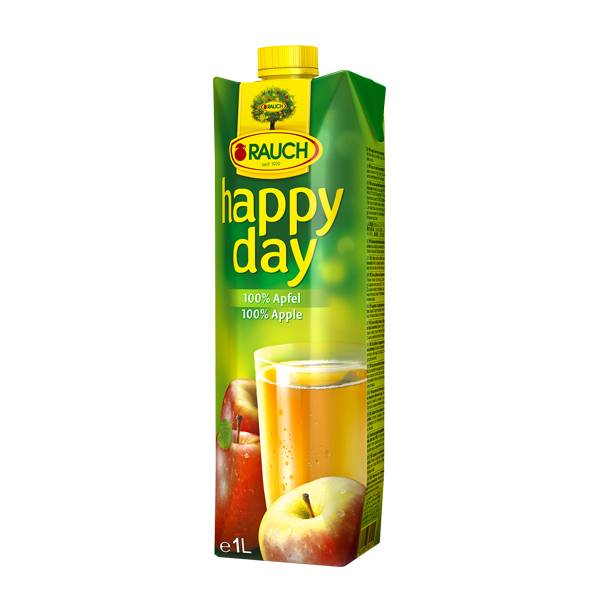 Happy Day Fruit Juice Apple 1 Ltr