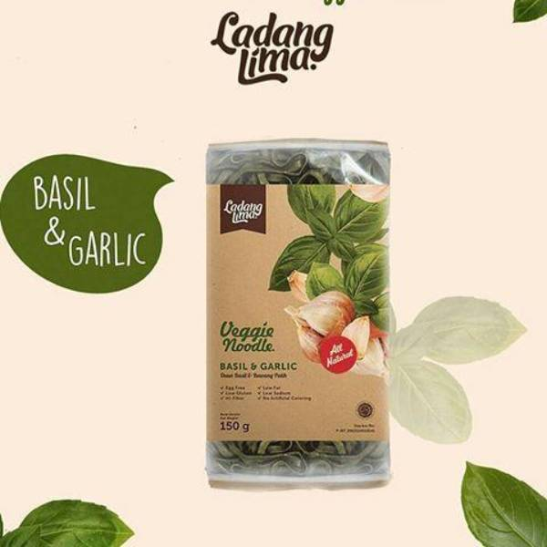 Ladang Lima Veggie Noodle Basil&garlic