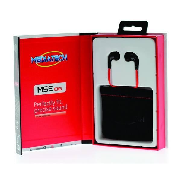 Mediatech Earset / Earphone Mse 06 + Mic1