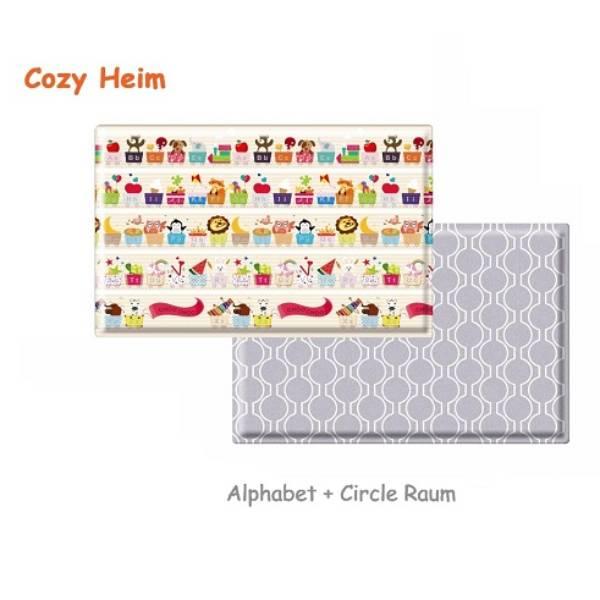 Parklon Cozy Heim Pvc Soft Mat Alphabet Circle Raum Size M [185 X 125 X 1.1]