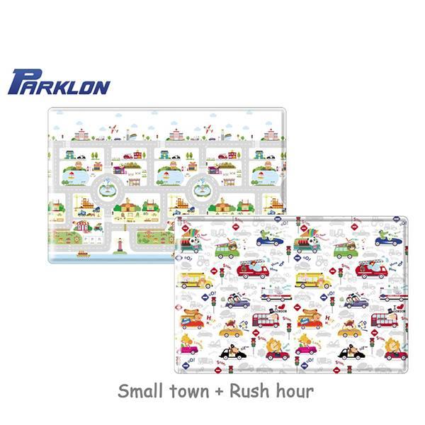 Parklon Pvc Rush Hour Soft Mat Alas Lantai Anak [size M 190 X 130 X 1.2]
