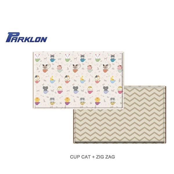 Parklon Pvc Cup Cat Zig Zag Playmat Alas Lantai [size Xl]