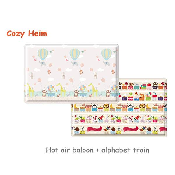 Parklon Cozy Heim Pvc Soft Mat Hot Air Balloon Alphabet Size L [210 X 140 X 1.5 Cm]