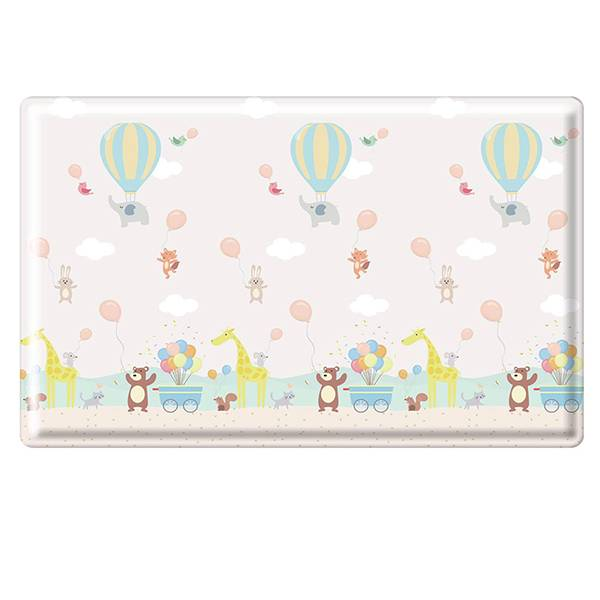 Parklon Cozy Heim Pvc Soft Mat Hot Air Balloon Alphabet Size L [210 X 140 X 1.5 Cm]1