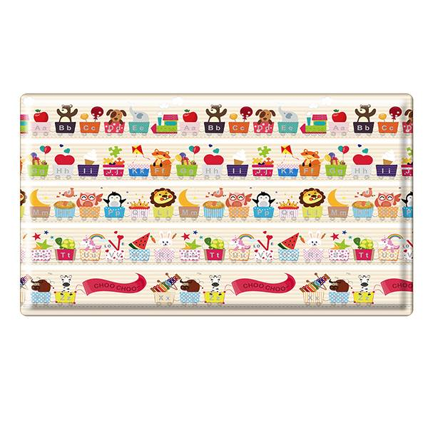 Parklon Cozy Heim Pvc Soft Mat Hot Air Balloon Alphabet Size L [210 X 140 X 1.5 Cm]2