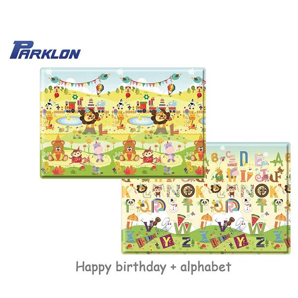 Parklon Happy Birthday Pvc Soft Mat Xl Alas Lantai [230x140x1.6 Cm]
