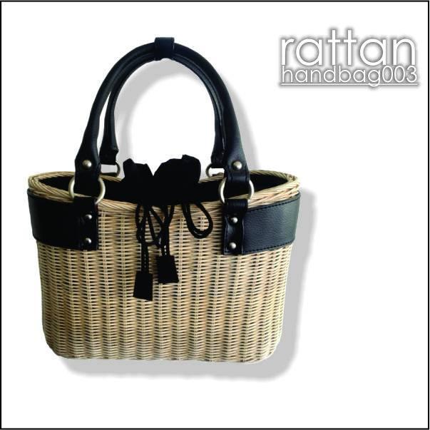 Rattan Handbag 003