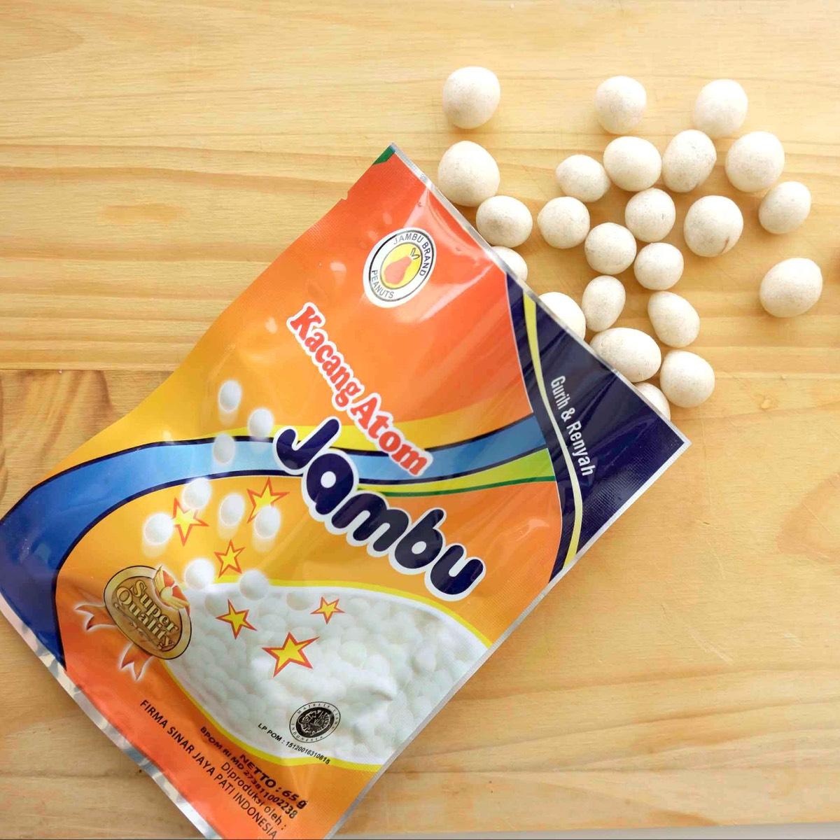 Kacang Atom Jambu