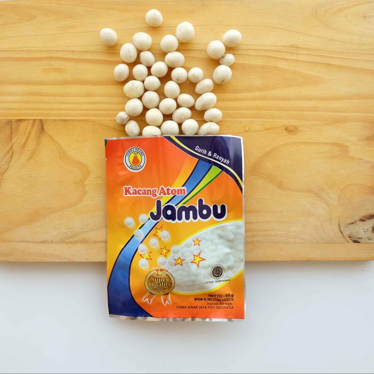 Kacang Atom Jambu Non-msg