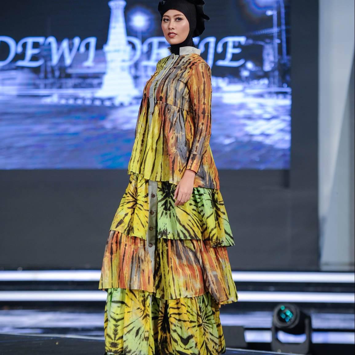 Ruffle Shibory Dress1