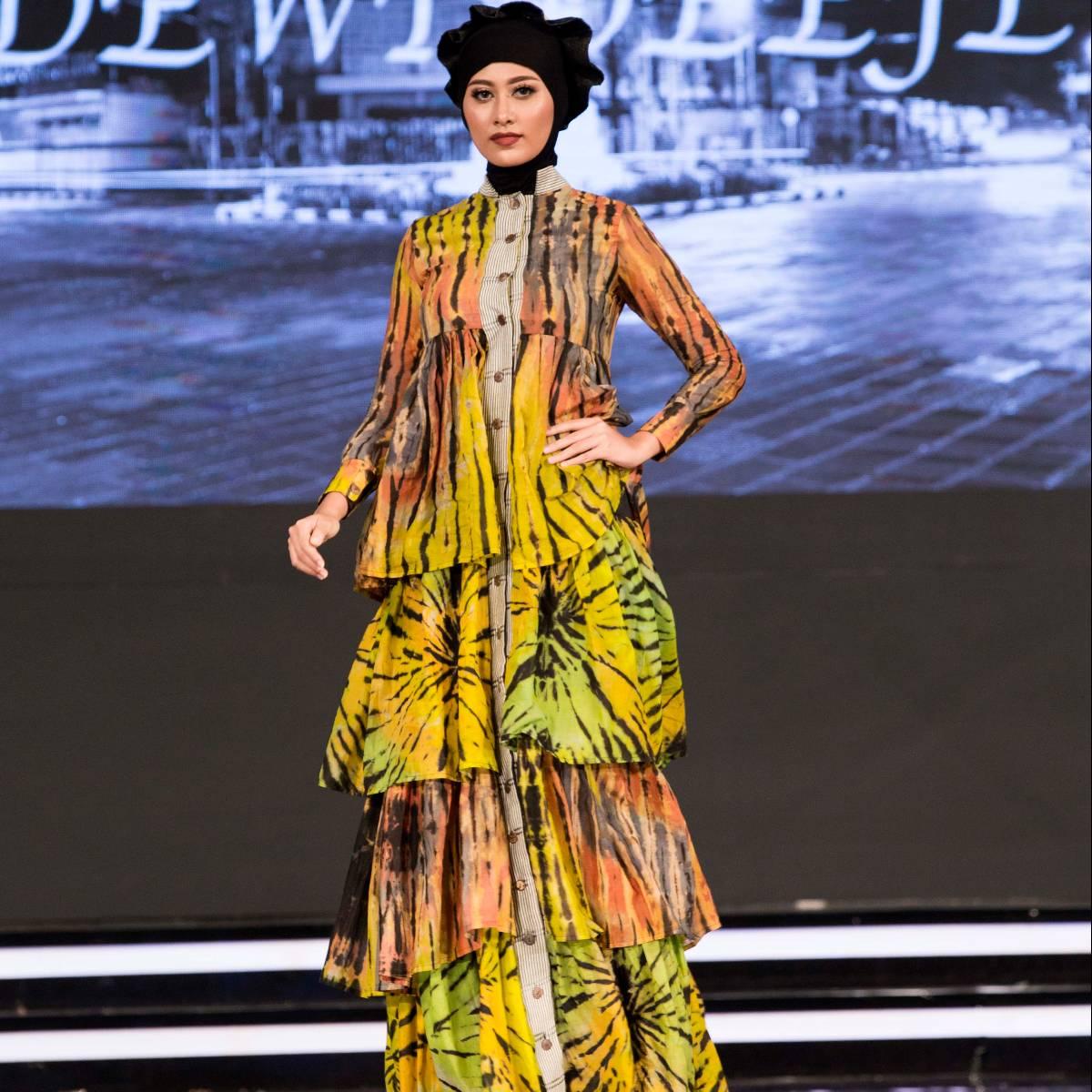 Ruffle Shibory Dress2