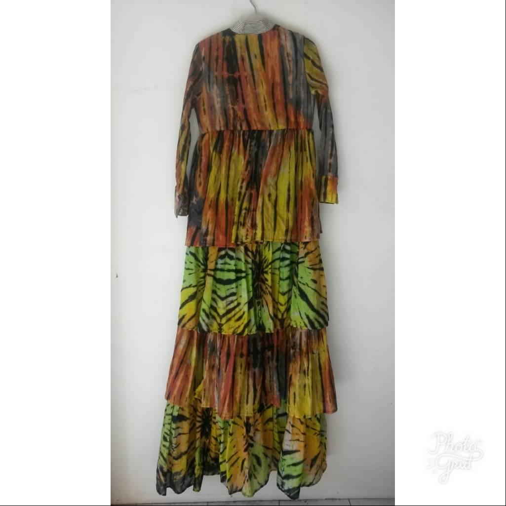 Ruffle Shibory Dress4