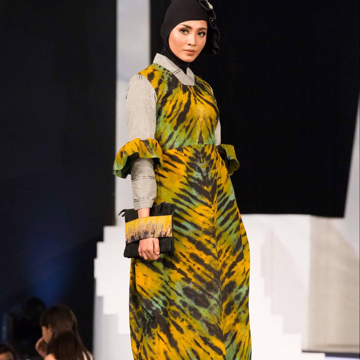 Shibory Bloomy Dress1