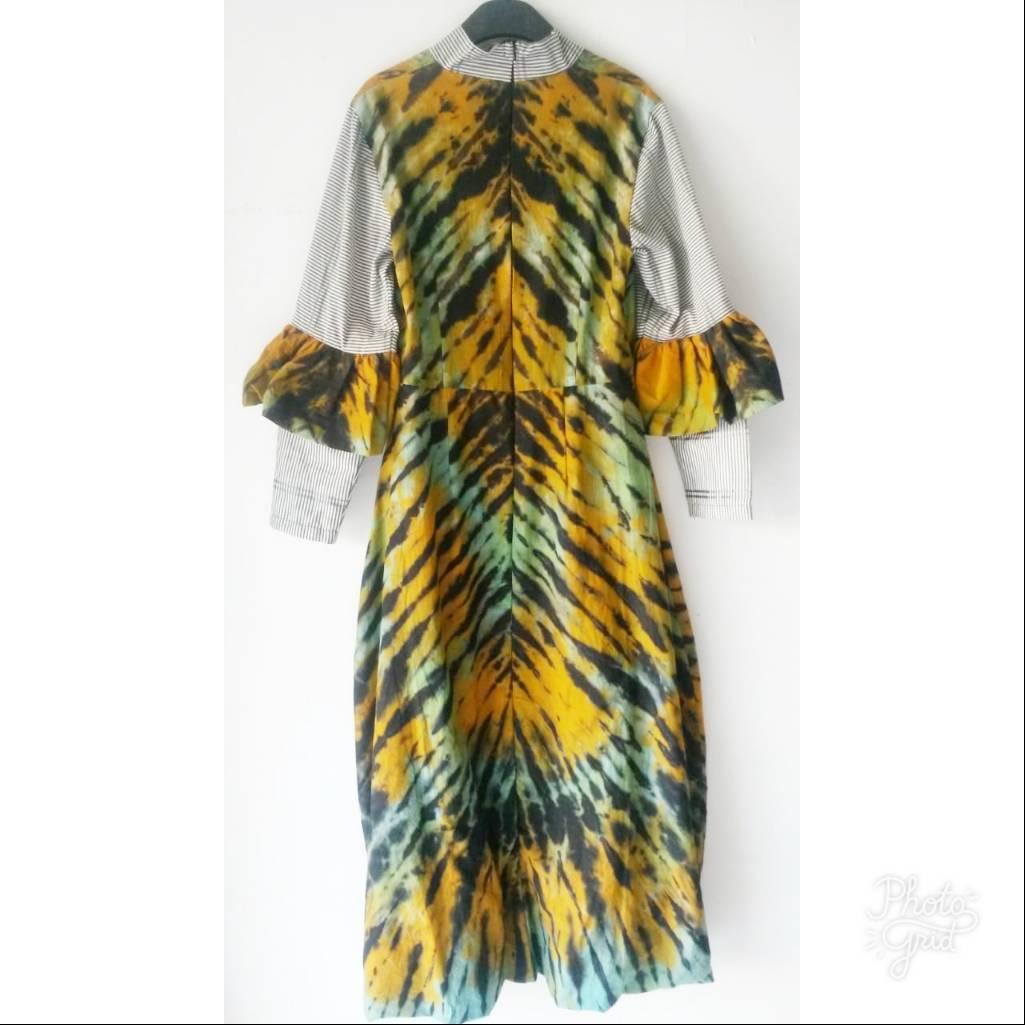 Shibory Bloomy Dress4
